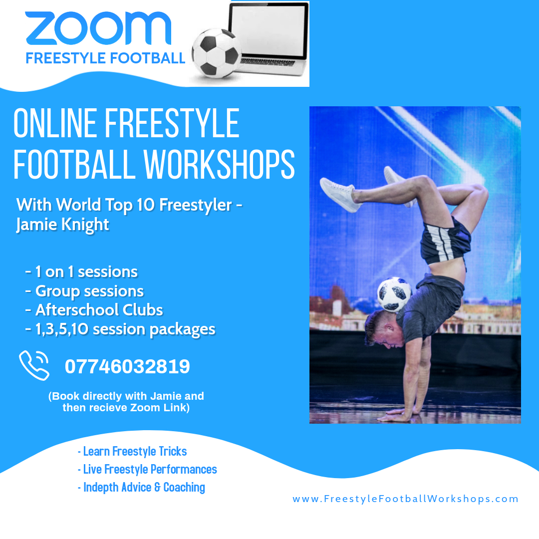 Online Freestyle Football Workshops